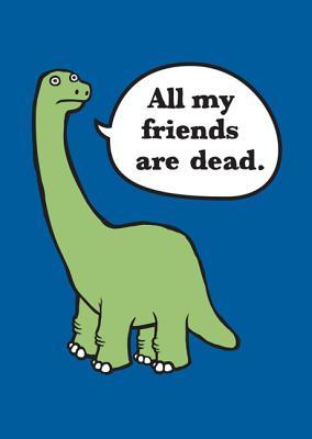 All My Friends Are Dead Felt Journal By Monsen, Avery/ John, Jory